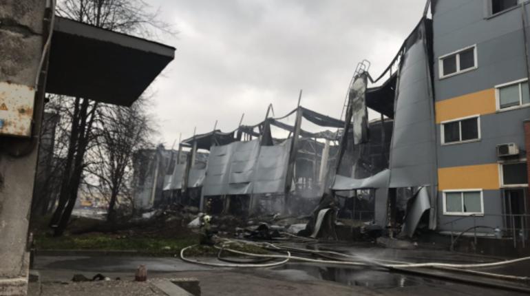 Стали известны подробности о состоянии пострадавшего при пожаре в гипермаркете