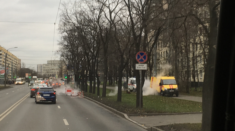 Две сотни домов остались без тепла на юго-западе Петербурга