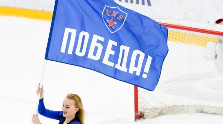 СКА завершил фееричный матч в Ледовом дворце. Петербургские армейцы разгромили «Адмирал» со счетом 8:2.