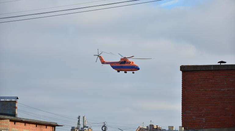 Самолет Су-27 полетит в Кронштадт вертолетом