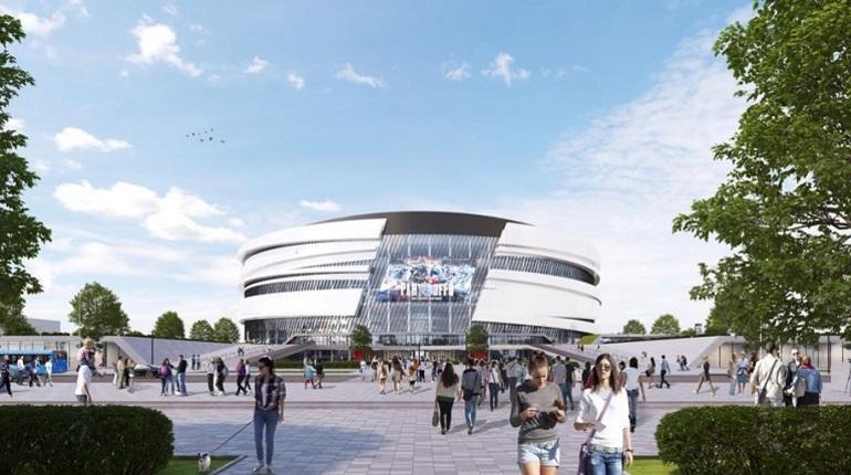 В Петербурге 22 ноября представили концепт фасада СКА-Арены, которую планирую возвести на месте СКК