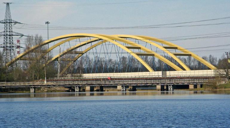 На Беляевском мосту усилят опоры