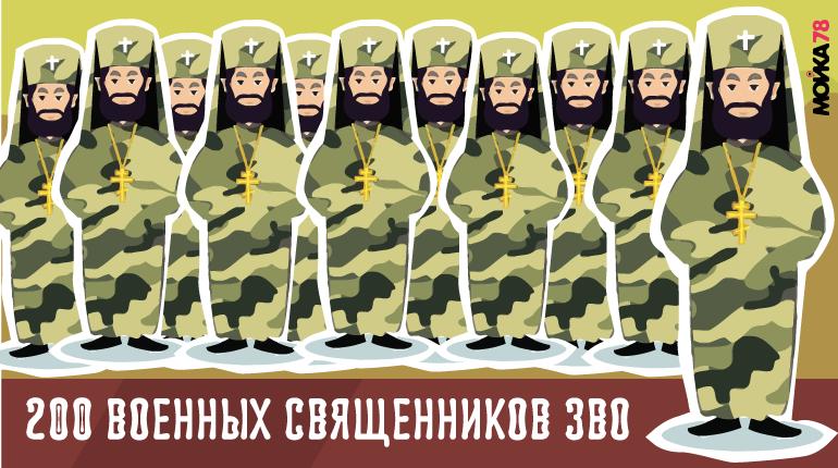 Сотни военных священников поддержат солдат ЗВО