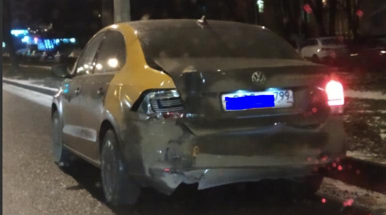 Очередное ДТП произошло с участием каршерингового автомобиля
