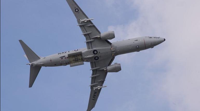 Противолодочный самолет американских ВМС Boeing P-8A Poseidon 27 ноября провел разведывательный полет в районе Керченского пролива и Крыма.