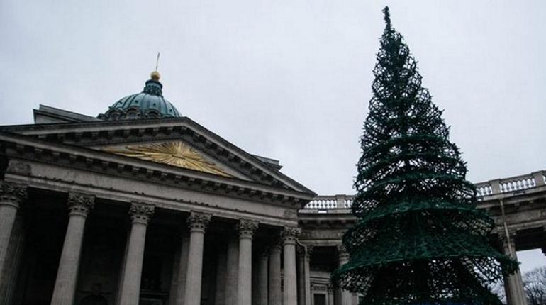 В Петербурге в этом году поставят 66 искусственных елей - на 11 больше, чем годом ранее. Об этом стало известно на заседании правительства города.
