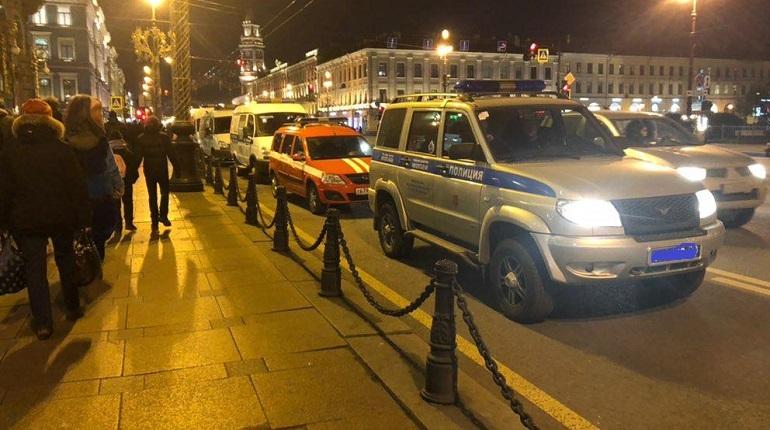 На Невском проспекте в Петербурге в историческом здании