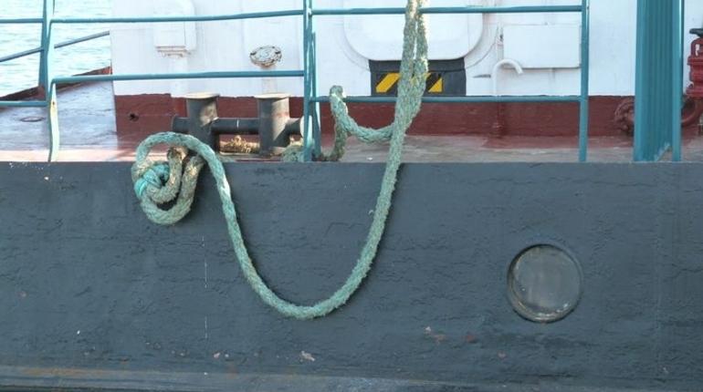 Затонувший в Охотском море сухогруз