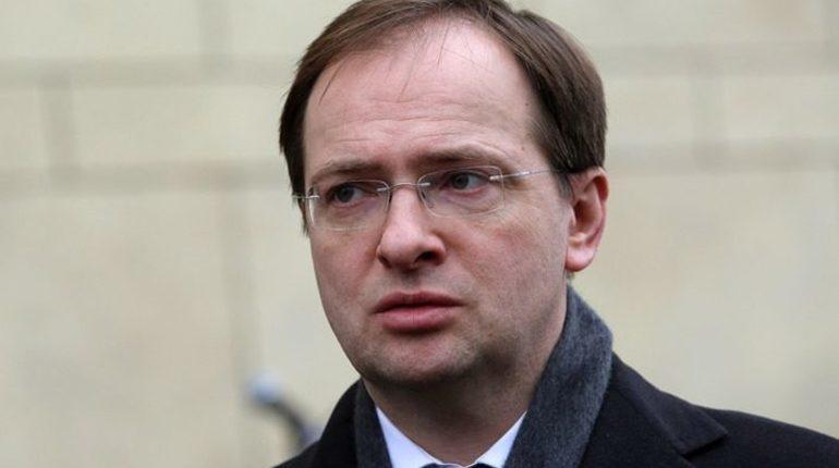 Министр культуры Владимир Мединский объяснил свою оговорку о покойном лидере группе