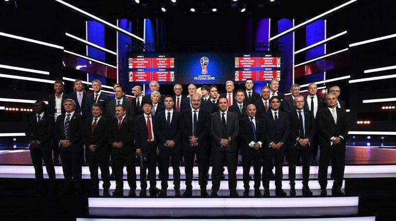 Сборная РФ пофутболу узнает собственных соперников начемпионате мира 2018 года