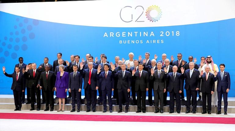 У президентов России и США Владимира Путина и Дональда Трампа не возможности поговорить на саммите
