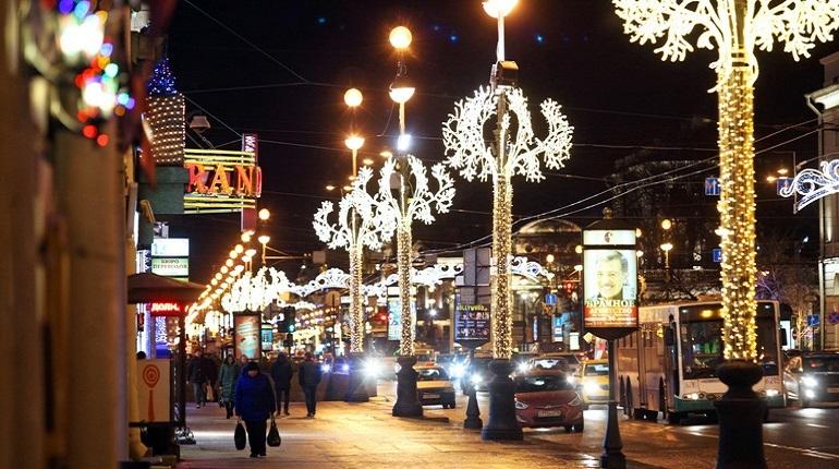 Петербург стал лучшим направлением для туристов во время первых зимних выходных