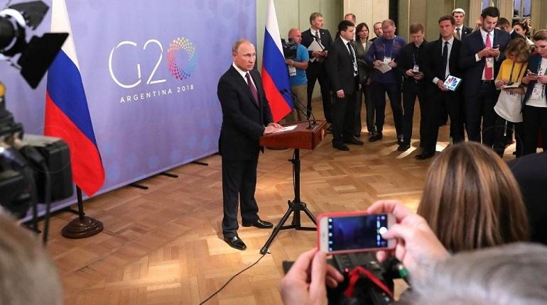 Президент РФ Владимир Путин заявил, что на саммите в Аргентине иностранным лидерам было трудно что-то возразить против его аргументов по поводу инцидента в Керченском проливе.