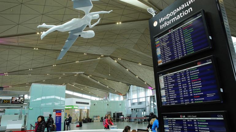 В петербургском аэропорту Пулково задерживается вылет самолета из Петербурга в Китай.