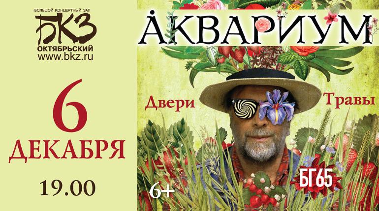 БГ отметит 65-летие концертом «Двери Травы»