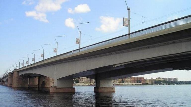 Тоннель появится при съезде с моста Александра Невского