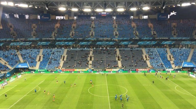 «Зенит» забивает очередной гол «Уралу»— 2-ой тайм