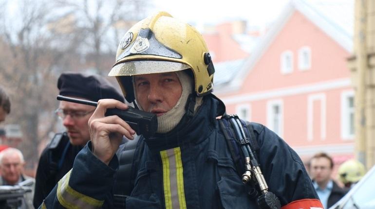 В Невском районе Петербурга пытаются потушить серьезный пожар. Об этом сообщает ГУ МЧС по городу.