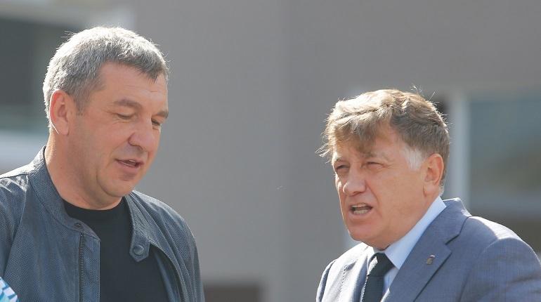 Макаров и Албин поспорили из-за парка Малиновка