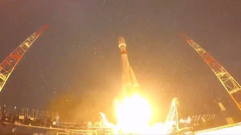 Ракета-носитель «Союз-2.1б» благополучно вывела наорбиту спутник Минобороны