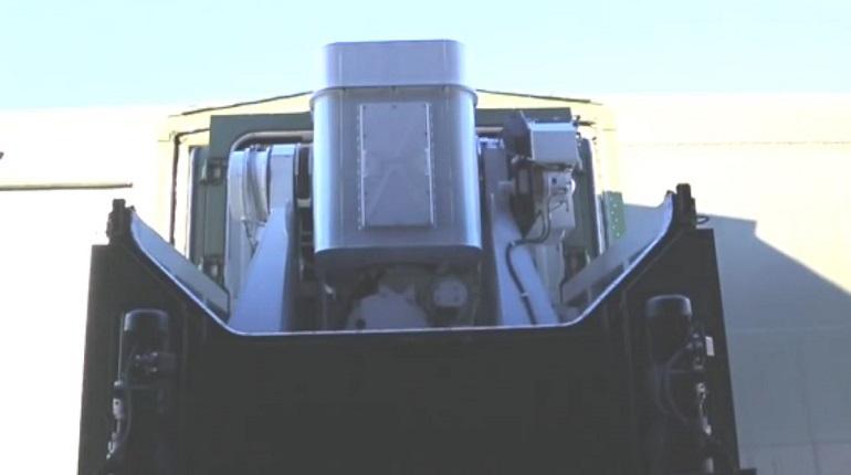 Минобороны показало кадры с развертыванием боевого лазера «Пересвет»