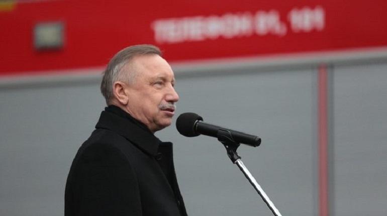 Беглов попросил Медведева помочь с ВСД и дорогами к «Лахта-Центру»