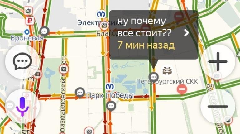 С самого утра 7 декабря на дорогах Петербурга наблюдаются заторы в непривычных местах. Пробки водители связывают с отъездом гостей Высщего Евразийского экономического совета.