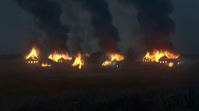 Столичный фотограф сжег заброшенную деревню ради эффектных снимков