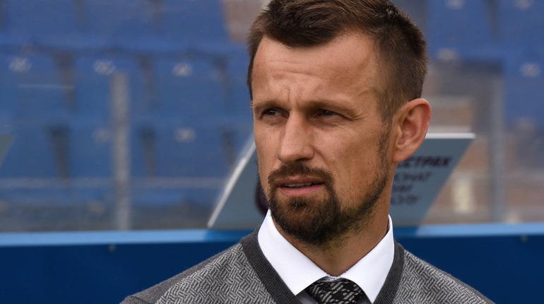 Главный тренер петербургского футбольного клуба