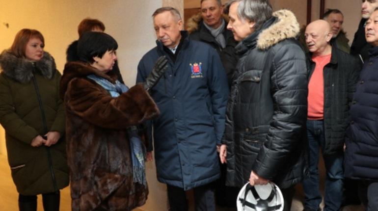 Беглов потребовал привлечь строителей ЖК на Ропшинском шоссе к ответственности