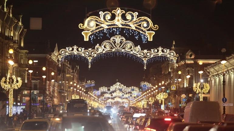 Невский проспект 31 декабря закроют для движения в 21 час