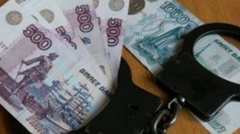 В Московском районе судебный пристав «погорел» на 100 тыс. рублей взятки