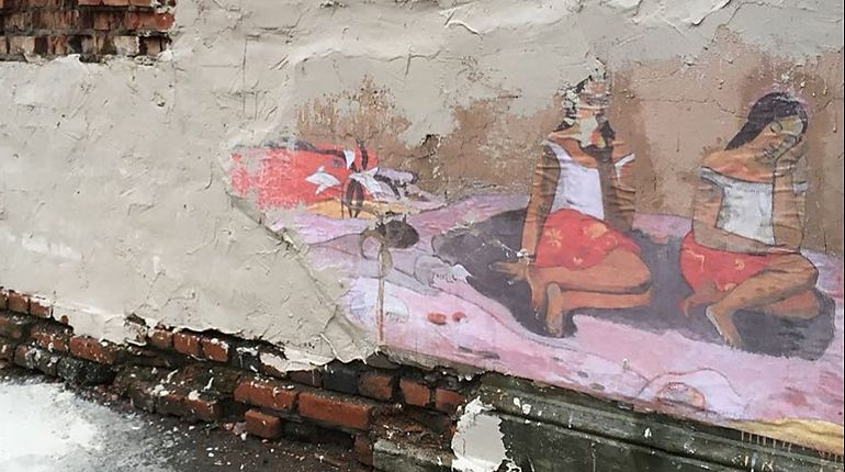 Коммунальщики Петербурга пошли боем на таитянок