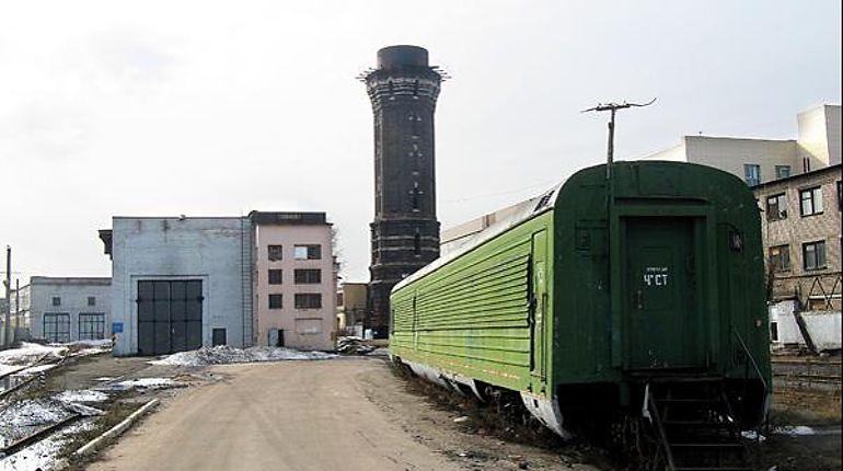 РЖД сливает башню в Петербурге
