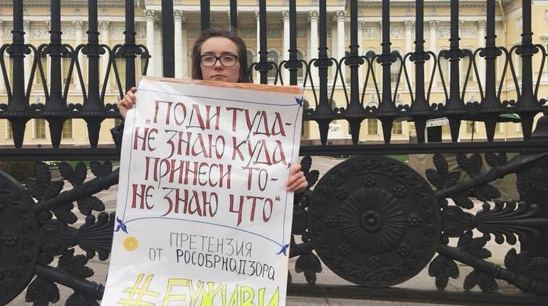 «Не закрывайте форточку в Европу»: студенты ЕУ провели пикеты в Петербурге