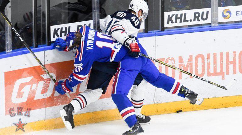 Хоккейный клуб СКА одержал 11 побед подряд в Континентальной хоккейной лиге. После матча с