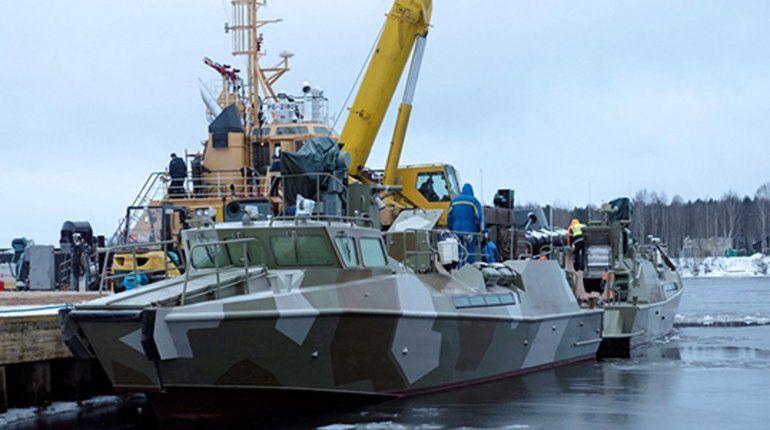 «Пелла» весной передаст ВМФ России два «Раптора»