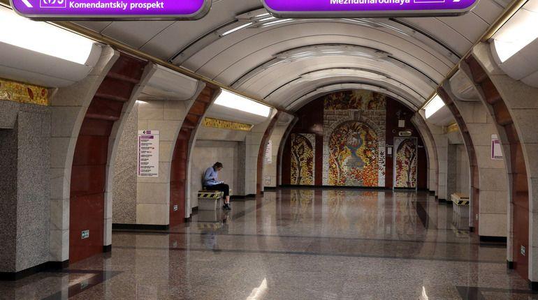 «Бухарестскую» закрыли для пассажиров