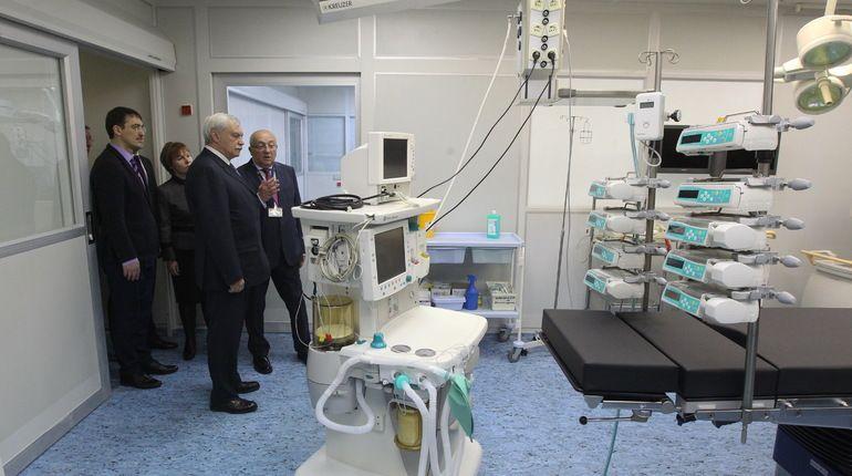 ВДГБ №1 открылось отделение скорой помощи для детей