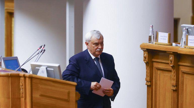 Полтавченко назвал дату начала строительства Восточного радиуса вПетербурге