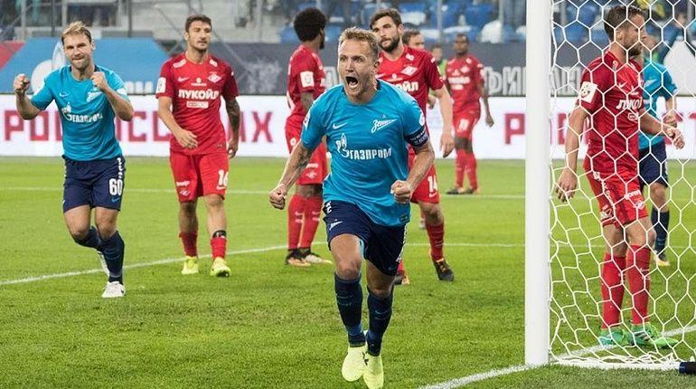 Фанаты «Зенита» назвали событием года разгром «Спартака»