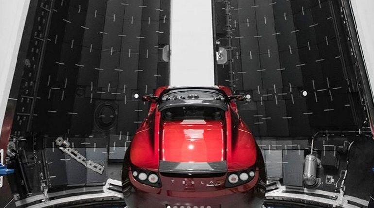 Илон Маск поделился фото сверхтяжелой ракеты-носителя SpaceX