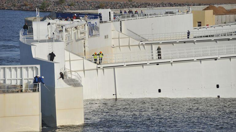 Петербург защитили от наводнения
