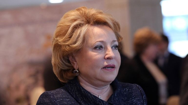 Матвиенко: РФ  «дружно выдохнула», когда Путин решил идти навыборы