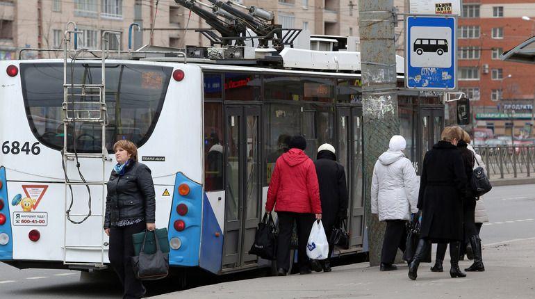 Троллейбус №41 меняет свой маршрут