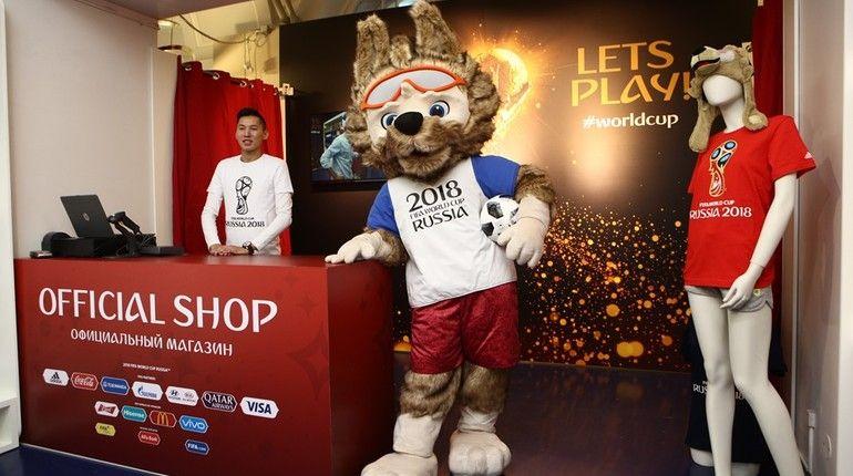 ВПетербурге открыли два магазина ссувенирами чемпионата мира