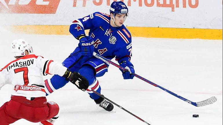 СКА потерпел шестое поражение всезоне КХЛ, уступив «Автомобилисту»
