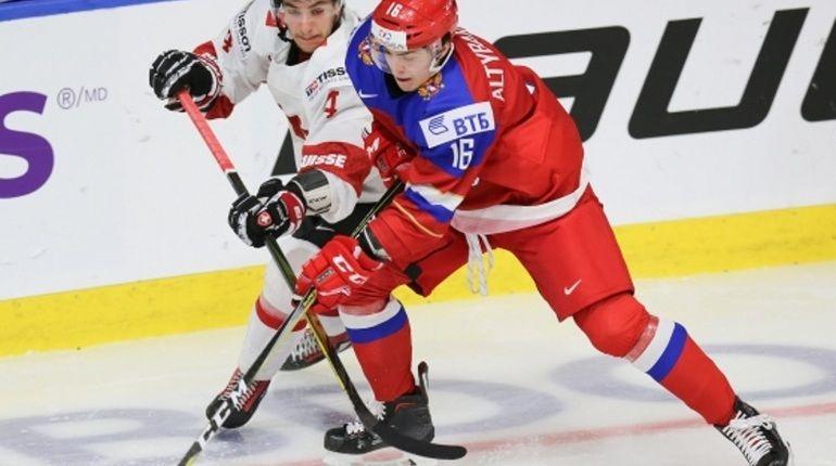 Молодежная сборная РФ разгромила Швейцарию 5:2 наЧМ похоккею