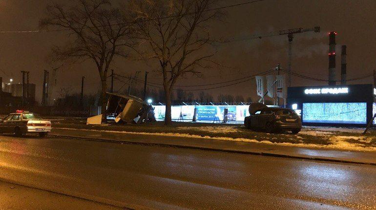 Авария на Крыленко превратила «Газель» в автохлам