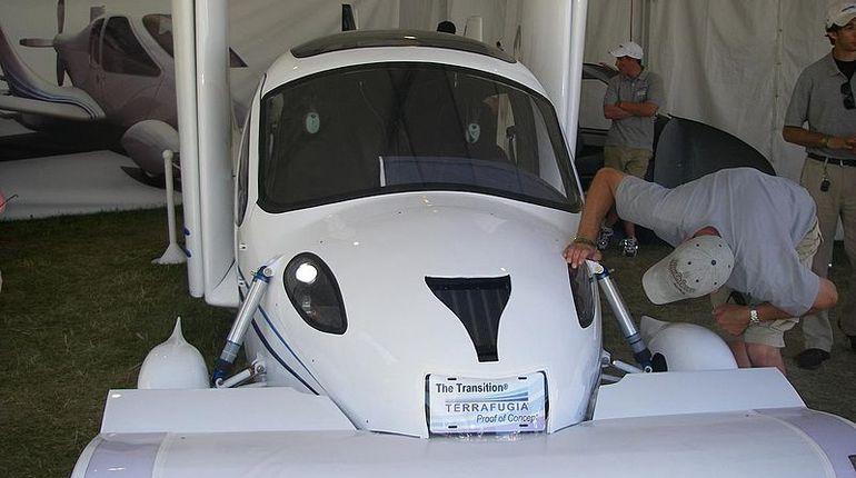 Российский летающий автомобиль соберут к 2021 году